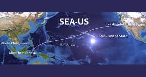 Philippines' Globe Telecom launches SEA-US subsea cable system