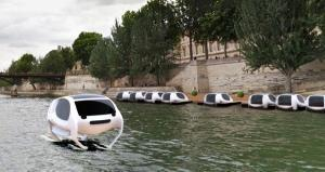 Paris set to introduce high-tech environmentally friendly river taxis
