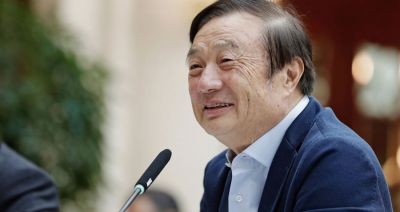 Huawei founder in defiant mood as he declares world can't live without us