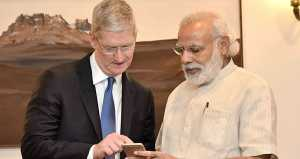 Apple wants tax cuts in India to manufacture products