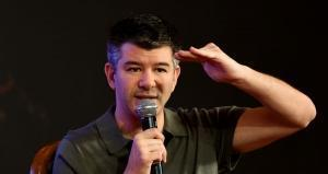 Co-founder and Chief Executive Officer of Uber Travis Kalanick. MONEY SHARMA / AFP