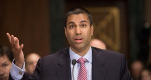 Federal Communications Commission (FCC) Chairman Ajit Pai. Nicholas Kamm / AFP