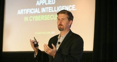 Stuart McClure, founder and CEO of Cylance, a company revolutionizing cybersecurity with products and services that proactively prevent, rather than reactively detect the execution of advanced persistent threats and malware. Photo: Zane Small