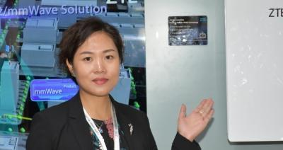 ZTE's Summer Chen confident the vendor will be first to deploy 5G technologies