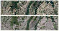Top: Landsat 8 observation satellite Bottom: Landsat 7 observation satellite