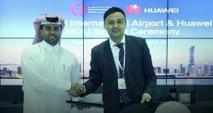 Huawei and Doha's Hamad International Airport enter into a strategic partnership for co-innovation