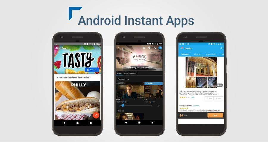 Google announce that 'Android Instant Apps' now available