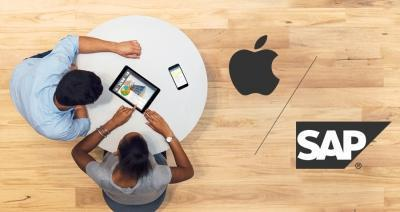 Apple partners with SAP to increase its commercial reach