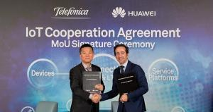 Telefónica and Huawei sign MoU to develop NB-IoT markets in Europe and South America