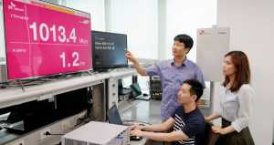 SK Telecom, Samsung Electronics and Nokia demonstrate 5G using 3.5GHz band