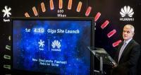 Spark and Huawei establish the first 4.5G mobile site in New Zealand