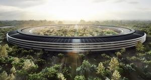 Apple's new HQ resembling a spaceship will be ready to occupy in April