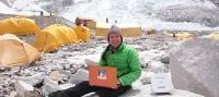 UAE mobile satellite communications firm keeps Mt. Everest climbers 'connected' on summit journey