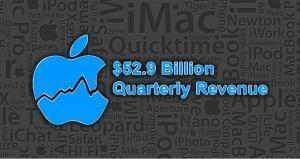 Apple reports $52.9 billion quarterly revenue for its fiscal 2017 Q2
