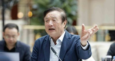 Huawei founder denies ties to Chinese government