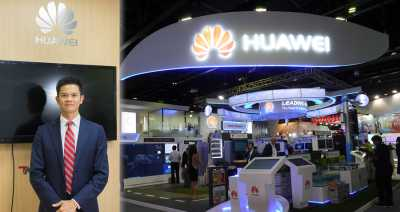 Huawei exec touts cloud services as growth area