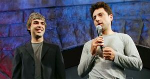 Google's founders step back from top roles