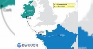 First subsea fiber-optic cable system planned between Ireland and France