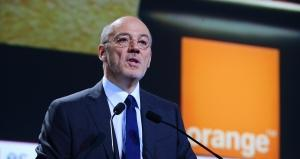 French telecom operator Orange CEO Stephane Richard. ERIC PIERMONT / AFP
