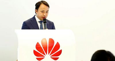 Huawei's European figurehead accuses US of 'bullying'