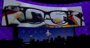Facebook file patent application for its development of futuristic 'smart glasses'