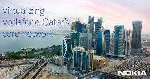 Nokia partners with Vodafone Qatar on network modernization