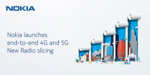 Nokia offers a new industry-first 4G/5G slicing solution