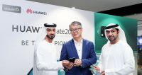 Etisalat and Huawei unveil HUAWEI Mate 20 X 5G device