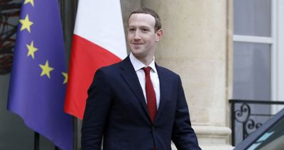 Zuckerberg and Macron meet to combat hate speech on social media