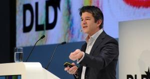 Travis Kalanick, co-founder and CEO of the US transportation network company Uber. AFP
