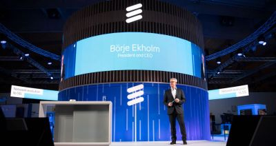 Ericsson CEO says its solutions have enabled its customers to be frontrunners for 5G