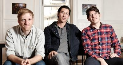From left to right: Kickstarter Founder Charles Adler, Perry Chen, Yancey Strickler Photo: Kickstarter