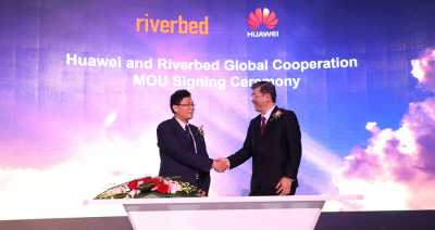 Huawei and Riverbed partner to accelerate digital transformation initiatives