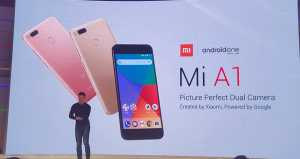 Google revives Android One with launch of Xiaomi's Mi A1
