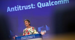 EU fines Qualcomm over alleged antitrust violation