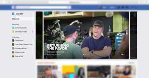 Facebook introduces video platform 'Watch' to rival streaming services