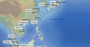 NTT Com brings Asia Pacific Gateway cable into service