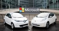 Microsoft and Renault-Nissan partner to advance connected driving experiences
