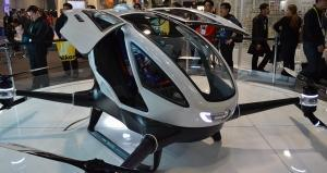 Revealed: The world's first passenger drone